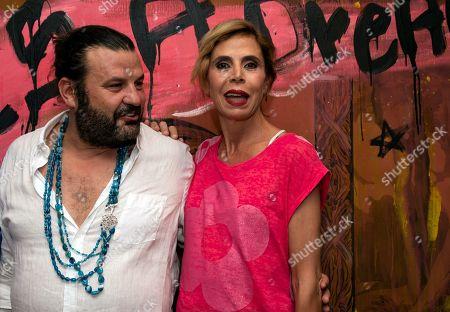 Editorial picture of Domingo Zapata's exhibition in Palma de Mallorca, Spain - 01 Aug 2018