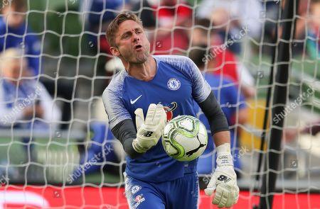 Chelsea goalkeeper Robert Green