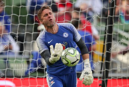 Chelsea goalkeeper  Robert Green