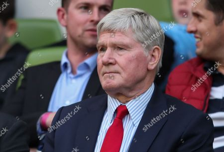 Former Arsenal Player and coach Pat Rice