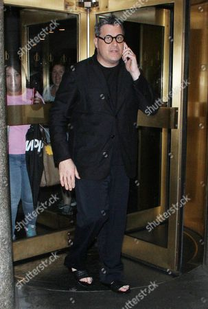 Editorial picture of Isaac Mizrahi out and about, New York, USA - 01 Aug 2018