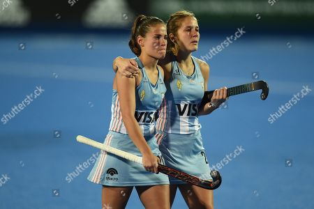 Editorial picture of Australia v Argentina, Vitality 2018 Hockey Women's World Cup - Quarter-FInals, Lee Valley Hockey and Tennis Centre, London, UK - 01 Aug 2018
