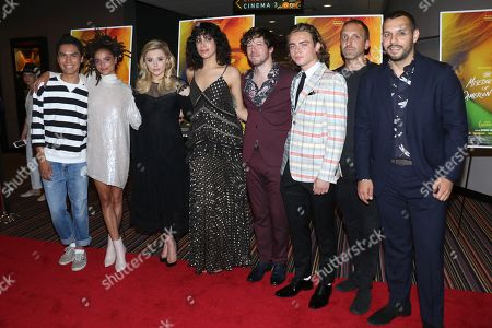 Forrest Goodluck, Sasha Lane, Chloe Grace Moretz, Desiree Akhavan, director, John Gallagher Jr., Christopher Dylan White, Michael B Clark, producer and Mathew Shurka