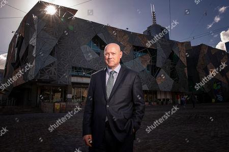 Editorial image of National Trust of Australia CEO Simon Ambrose presser in Melbourne - 01 Aug 2018