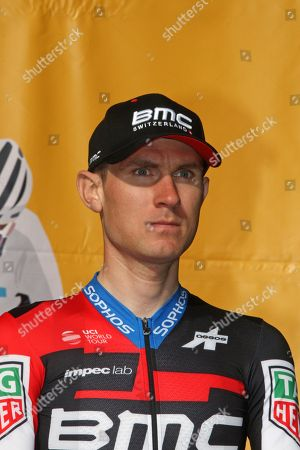 USA team rider and professional cyclists, Tejay Van Garderen, at a presentation for Tour De France