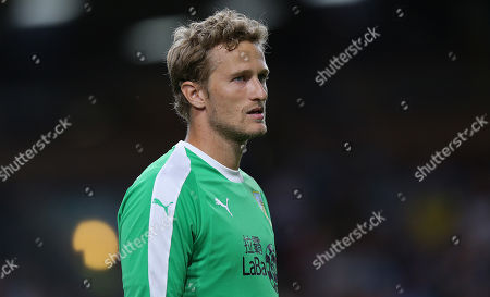 Burnley goalkeeper Anders Lindegaard