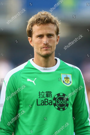 Stock Photo of Anders Lindegaard of Burnley