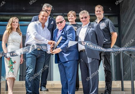 Editorial photo of Guinness Open Gate Brewery & Barrel House Ribbon Cutting Ceremony, Halethorpe, USA - 02 Aug 2018