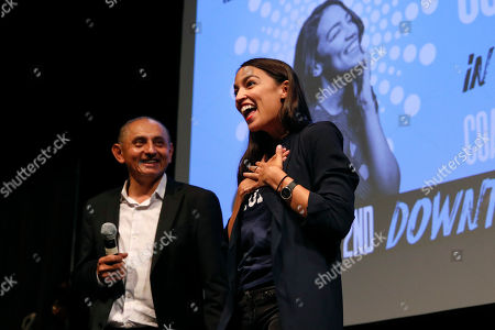 Editorial photo of Ocasio Cortez California, Los Angeles, USA - 02 Aug 2018
