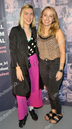 Clodagh Kelly and Louise Osborne Pictured at the opening night of the GAZE Film Festival in Light House Cinema
