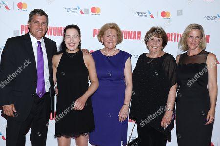 Scott Marshall, Charlotte Marshall, Barbara Marshall, Ronny Hallin and Kathleen Marshall