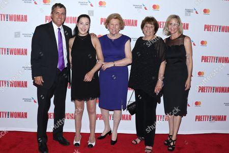 Stock Image of Scott Marshall, Charlotte Marshall, Barbara Marshall, Ronny Hallin and Kathleen Marshall
