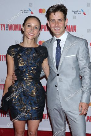 Stock Picture of Barrett Williams and Joey McIntyre