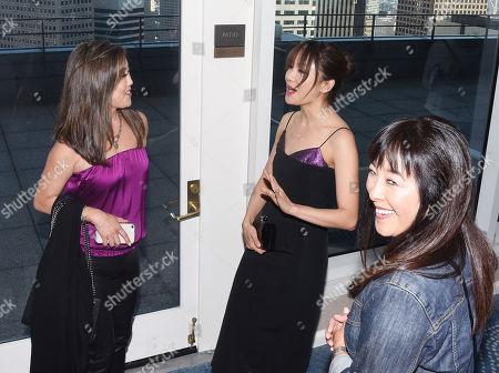 Kristi Yamaguchi and Constance Wu