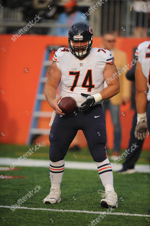 nd, Bears #74 Jack Allen during the Chicago Bears vs Baltimore Ravens at Tom Benson Hall of Fame Stadium in Canton, Ohio