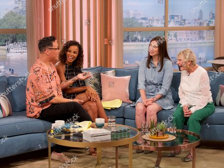 Stock Photo of Gok Wan, Rochelle Humes, Laura Topham, Maureen Jympson