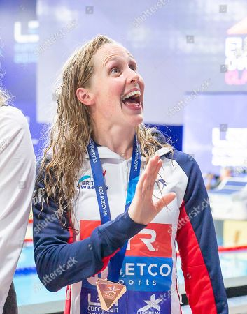 Great Britain's Hannah Miley takes bronze in the Womens 400m Individual Medley final.