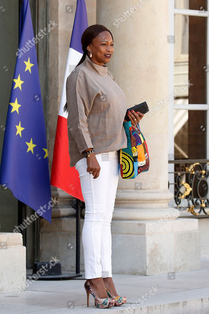 French minister of sport Laura Flessel leaves the Elysee palace following the weekly cabinet meeting in Paris, France, 03 August 2018. President Macron presided the last cabinet meeting before the government went on summer holidays at the Elysee Palace in Paris.