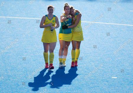 Editorial picture of Netherlands v Australia, Vitality FIH Hockey Women's World Cup Semi-final, International Hockey, Lee Valley Hockey Centre, London, UK - 04 Aug 2018