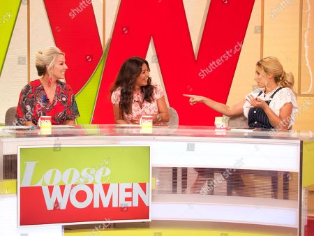 Editorial picture of 'Loose Women' TV show, London, UK - 03 Aug 2018