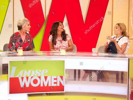 Stock Image of Zoe Lucker, Laila Rouass, Stacey Solomon