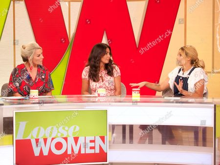 Editorial photo of 'Loose Women' TV show, London, UK - 03 Aug 2018