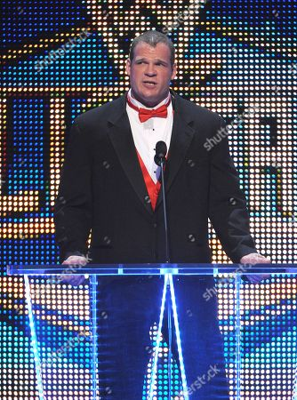 Editorial photo of WWE Hall of Fame induction ceremony, New Orleans, USA - 05 Apr 2014