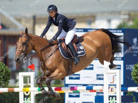 Editorial image of Longines Global Champions Tour, Event 13, Royal Hospital Chelsea, London England, 3rd August 2018