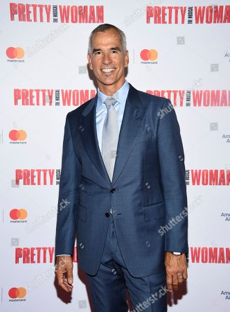 """Jerry Mitchell attends a Garry Marshall tribute performance of """"Pretty Woman: The Musical"""" at The Nederlander Theatre, in New York"""