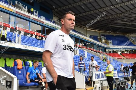 Derby County head goalkeeping coach Shay Given before the EFL Sky Bet Championship match between Reading and Derby County at the Madejski Stadium, Reading. Picture by Graham Hunt