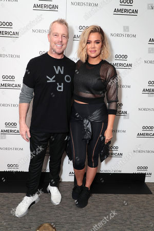 Gunnar Peterson and Khloe Kardashian
