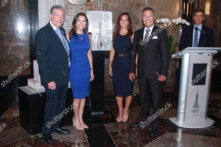 Rafael Pineda, Katiria Soto, Liliana Ayende and Salvador Cruz