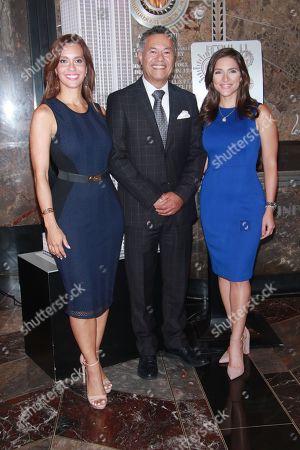 Stock Image of Liliana Ayende, Salvador Cruz and Katiria Soto