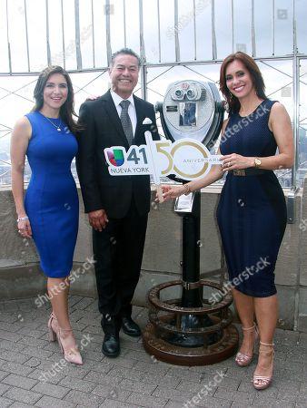 Stock Picture of Katiria Soto, Salvador Cruz and Liliana Ayende