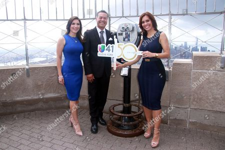 Editorial picture of Univision Lights The Empire State Building, New York, USA - 03 Aug 2018