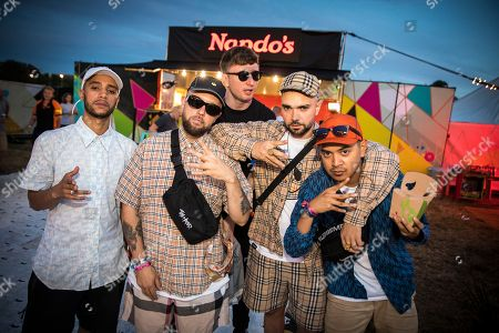 The Kurupt FM boys hit up the #NandosRider ahead of their Bestival performance