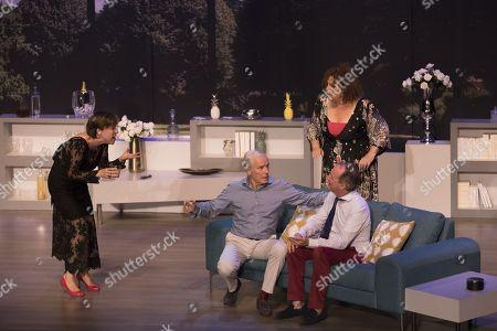 (G-D) Michele Garcia, Pierre Douglas, Valerie Mairesse, Bruno Chapelle