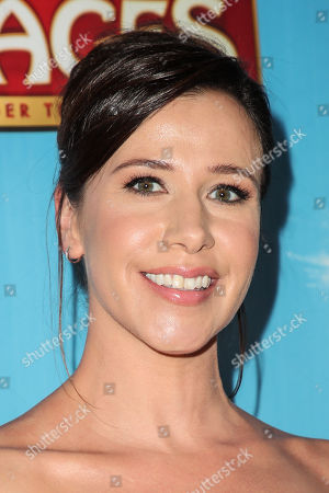 Editorial image of 'Waitress' musical opening night, Arrivals, Pantages Theatre, Los Angeles, USA - 03 Aug 2018