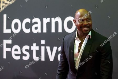 American director Antoine Fuqua poses on the red carpet during the 71st Locarno International Film Festival, Saturday, August 4, 2018, in Locarno, Switzerland. The Festival del film Locarno runs from 1 to 11 August.