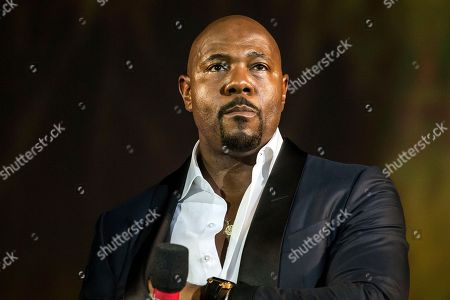 US director Antoine Fuqua speaks on stage during the 71st Locarno International Film Festival, in Locarno, Switzerland, 04 August 2018. The Festival del film Locarno 2018 runs from 01 to 11 August.