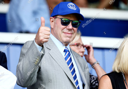 Portsmouth Owner Michael Eisner gives a thumbs up.