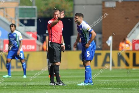 Editorial picture of Wigan Athletic v Sheffield Wednesday, EFL Sky Bet Championship - 04 Aug 2018