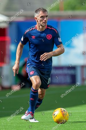 Aaron Hughes of Heart of Midlothian during the Ladbrokes Scottish Premiership League match between Hamilton Academical FC and Heart of Midlothian FC at New Douglas Park, Hamilton. Picture by Malcolm Mackenzie