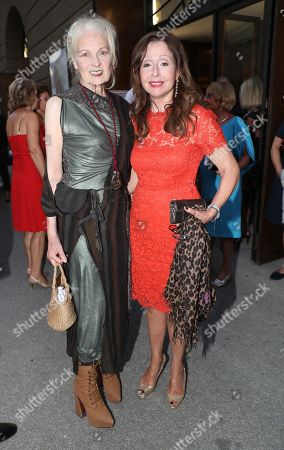 Vivienne Westwood and Vicky Leandros