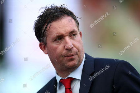 Liverpool vs SSC Napoli. Former Liverpool player Robbie Fowler