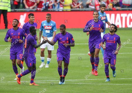 Editorial picture of Liverpool v Napoli International Champions Cup  Aviva Stadium Dublin Ireland 04 Aug 2018