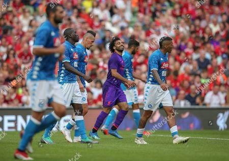 Editorial photo of Liverpool v Napoli International Champions Cup  Aviva Stadium Dublin Ireland 04 Aug 2018
