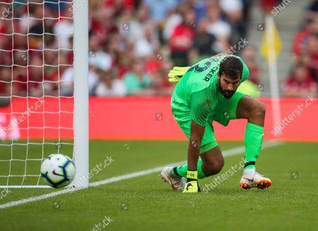 Editorial image of Liverpool v Napoli International Champions Cup  Aviva Stadium Dublin Ireland 04 Aug 2018