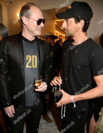 Maximillion Cooper and Adrien Brody