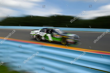 NASCAR Xfinity Series driver Elliott Sadler (1) during the NASCAR XFINITY Series Zippo 200 at The Glen on at Watkins Glen International in Watkins Glen, New York